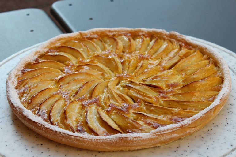 CBD Apfelkuchen